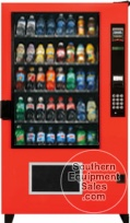 AMS BM40 Glass Front Outsider Drink Vending Machine