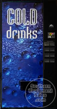 Dixie Narco 501 Cold Drinks Can Drink Machine