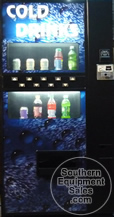 Dixie Narco 501E Live Front Bottle & Can Drink Machine