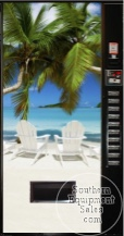 Royal 650 Can & Bottle Drink Machine With Beach Front