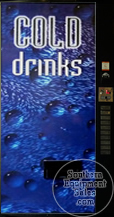 Vendo 500 Series Drink Machine With Cold Drinks Front