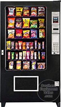Ams 39 640 Snack Vending Machine New Snack Vending
