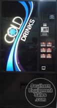 Dixie Narco 360 Used Can Drink Vending Machine
