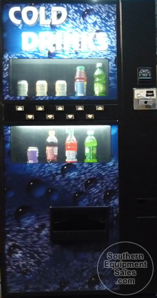 dixie narco 501e live front used soda vending machines
