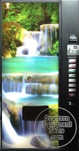 Dixie Narco 501E Waterfall Bottle & Can Drink Machine